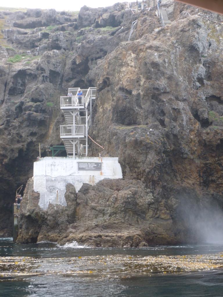 Stairs to Anacapa.