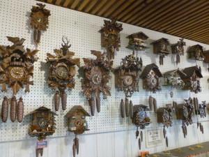 Cuckoo Clocks in Solvang