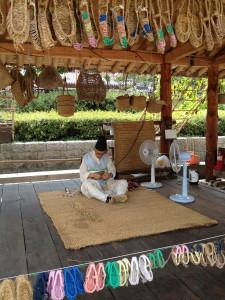 Weaving at Namasok Village
