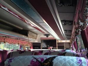 Korean tour bus