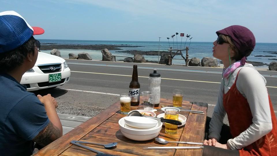 Pajeon in Sehwa, Jeju Island