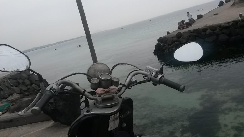 Jeju Island scooter
