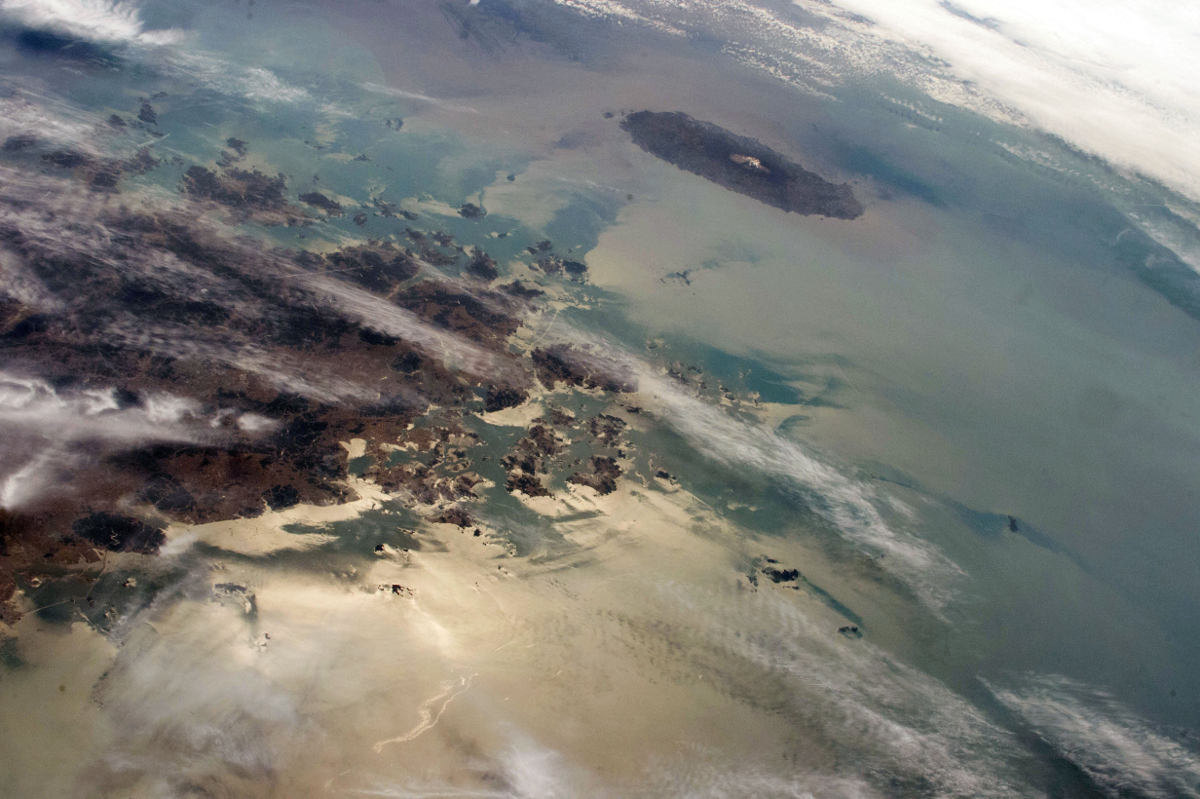Jeju from the International Space Station