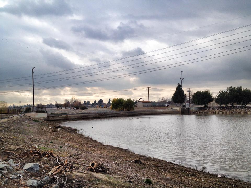 San Gabriel River near Pico Park