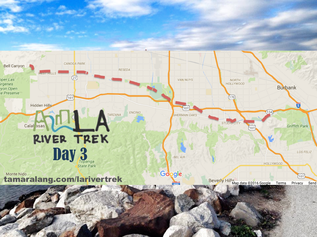 LA River Trek Day 3